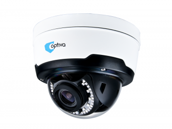 IP camera OPTIVA, 2Mpix, external, IR up to 40m, ob 2.8-12mm MZ, MicroSD, IK10, IP66, P2P, H.265 VOBIP948MZ OPTIVA2B