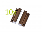 ZZFMV-106 BR Magnetic reed switch, 10 pcs set