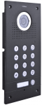 S561D-B 1-button door lock, flush or surface mounting, vandal-proof, scrambler, black, VIDOS