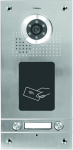 S562A 2-button door intercom, flush or surface mounting, vandal-proof, card reader, VIDOS