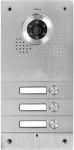 S563 3-button door intercom, vandal resistant, VIDOS
