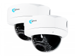 ZZ2xVOBIP944M 2x IP Cameras OPTIVA, 2Mpix / 1080p, domed, outdoor, IR up to 20m, ob 2.8-12mm, IP66, IK10